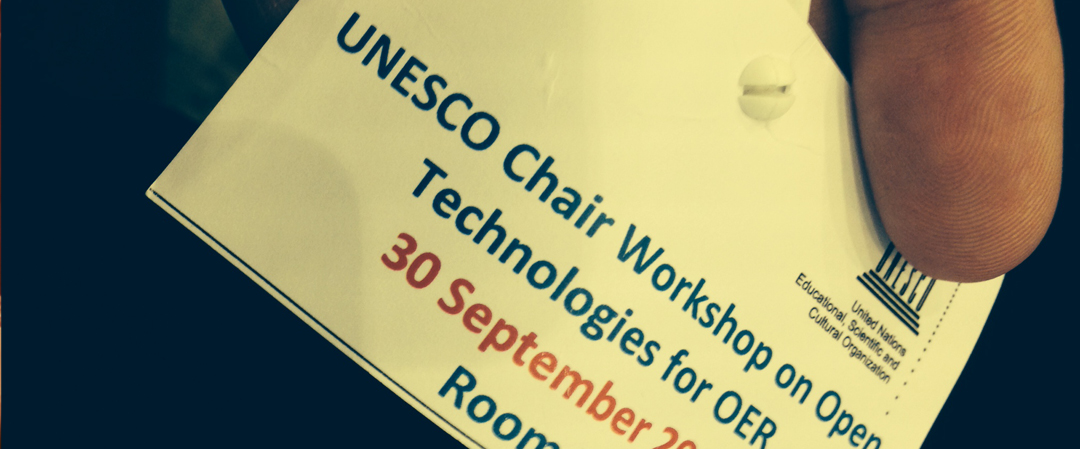 UNESCO katedra o odprtih tehnologijah za prosto dostopne izobraževalne vire in odprto učenje