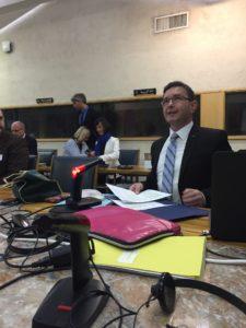 Boris Koprivnikar, minister za javno upravo, Vlada Republike Slovenije - Strokovno srečanje - osnutek priporočila o prosto dostopnih izobraževalnih virih (OER)