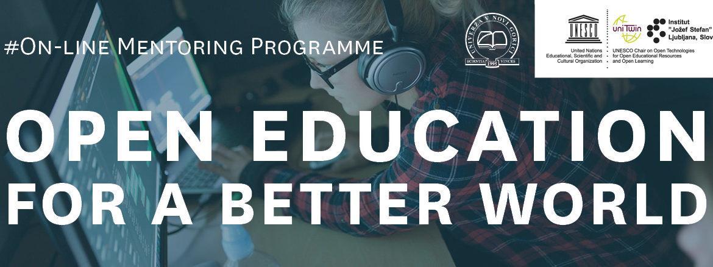 Mentorski program – Odprto izobraževanje za boljši svet
